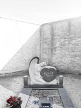 Statuie Inger - granit gri