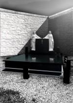 Set cadru DUBLU 4,5 cm cu capac - Negru